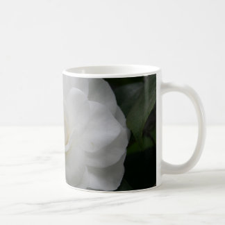 白いCamelia コーヒーマグカップ