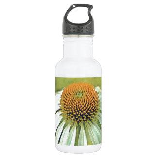 白いConeflower ウォーターボトル