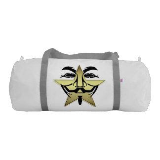 白いDuffleの体育館のバッグ ジムバッグ