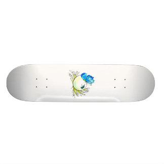 白いegg.pngの青い蝶 スケボー