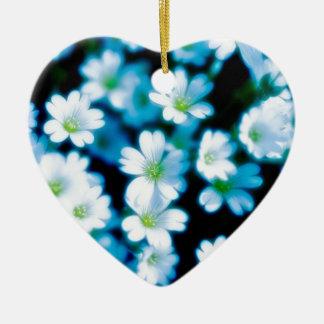 白いflowers.jpg セラミックオーナメント