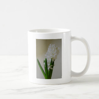 白いHyacinth. コーヒーマグカップ