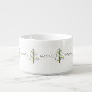 白いID197の天使のクリスマスツリー チリボウル