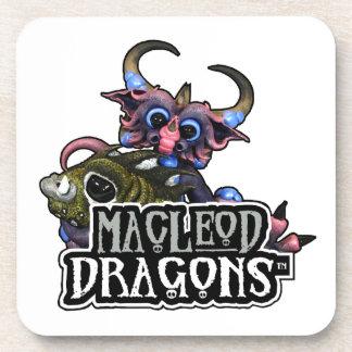 白いMD Cuddlefishのドラゴン コースター