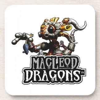 白いMD Steampunkのドラゴン コースター