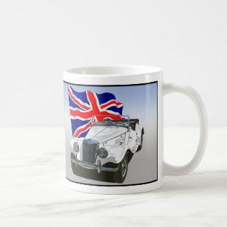 白いMG TF コーヒーマグカップ