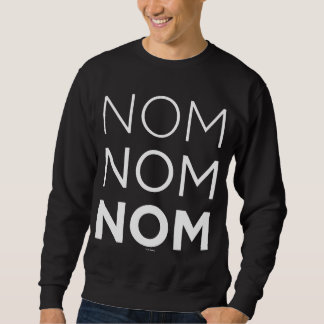 白いNom Nom Nom スウェットシャツ