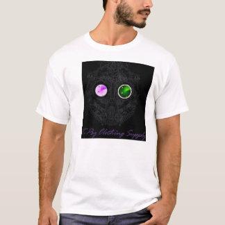 白いT-Psyのロゴ Tシャツ