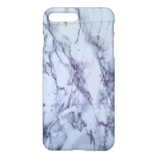 白くおよび青のテーブル iPhone 8 PLUS/7 PLUSケース