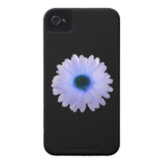 白くおよび青のマリーゴールドのiphone 4ケース Case-Mate iPhone 4 ケース