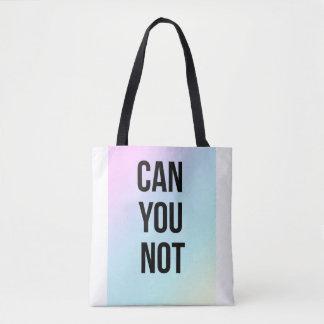 白くないおよび黒いトートの買物客のバッグできます トートバッグ