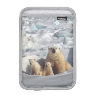 白くまのカブスの北極野性生物の小型iPadの袖 iPad Miniスリーブ