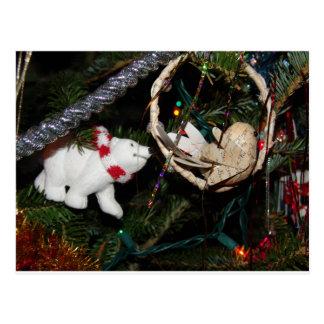 白くまのクリスマス ポストカード