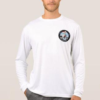 白くまの挑戦オートバイ Tシャツ