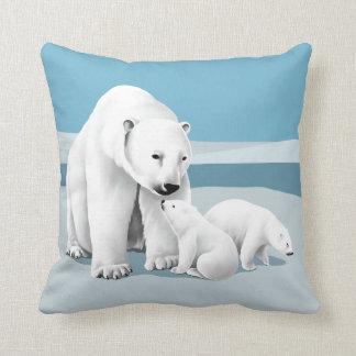 白くまの枕 クッション