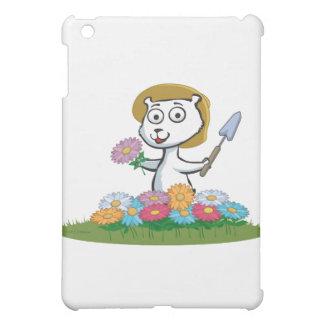 白くまの花の庭師 iPad MINIカバー