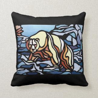 白くまの芸術の枕最初国家くまの枕 クッション