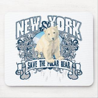 白くまニューヨーク マウスパッド