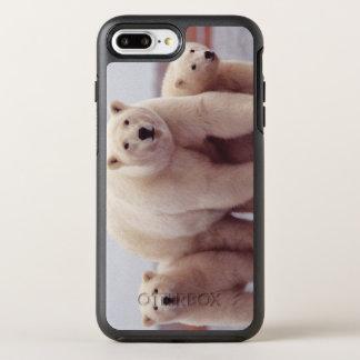 白くま家族 オッターボックスシンメトリーiPhone 8 PLUS/7 PLUSケース