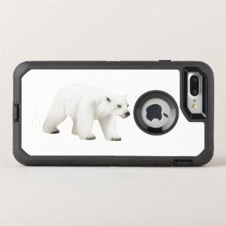 白くま、オッターボックスの場合 オッターボックスディフェンダーiPhone 8 PLUS/7 PLUSケース