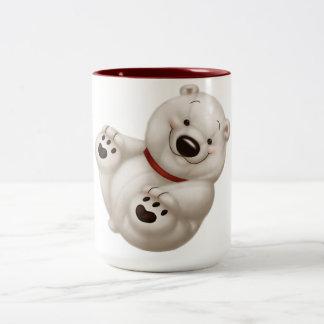 白くま ツートーンマグカップ