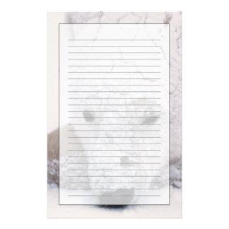 白くま、Urus Maritimusの北極、Churchill、 便箋