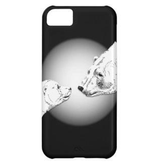 白くまIphone 5個の場合くまの芸術のギフト iPhone5Cケース
