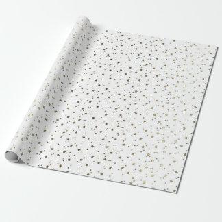 白く小さい金星の包装紙 ラッピングペーパー