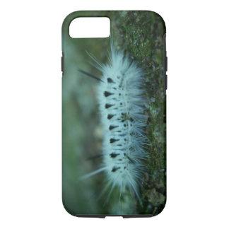白く曖昧な幼虫の堅いiPhone 7の場合 iPhone 8/7ケース