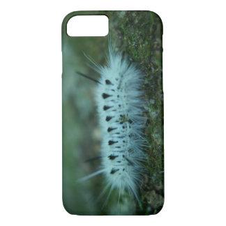 白く曖昧な幼虫のiPhone 7のやっとそこに箱 iPhone 8/7ケース