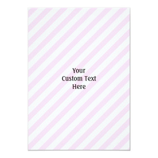 白く、淡いピンクの縞 カード