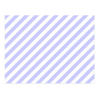 白く、薄紫の縞 ポストカード