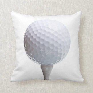 白によってカスタマイズテンプレートのゴルフ・ボール及びティー クッション
