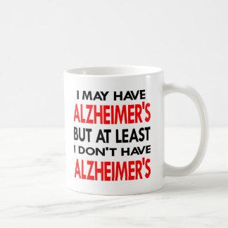 白にAlzheimersがあるかもしれません コーヒーマグカップ