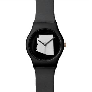 白のアリゾナ 腕時計