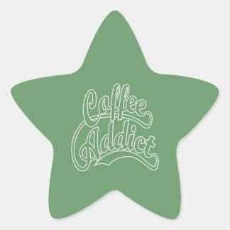 白のコーヒー常習者 星シール