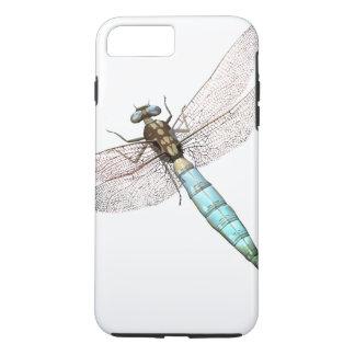 白のデジタルトンボ iPhone 8 PLUS/7 PLUSケース