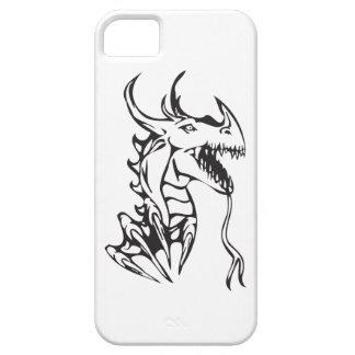 白のドラゴン iPhone SE/5/5s ケース