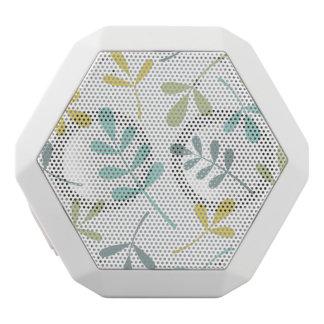 白の大きい分類された葉色の組合せ ホワイトBluetoothスピーカー