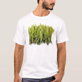 白の未加工アスパラガスの束 Tシャツ