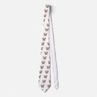 白の板紙箱の3匹の若い猫 ネクタイ