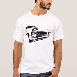 白の1965年のポンティアクグランプリ Tシャツ