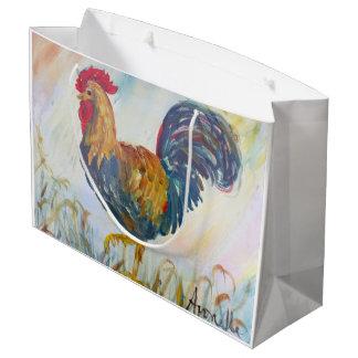 白のRooser ラージペーパーバッグ