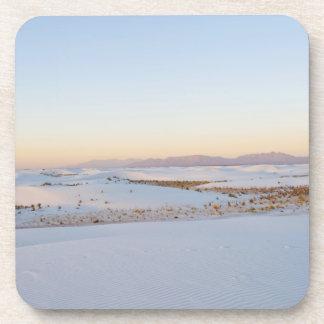 白は国有記念物、横断砂丘2を紙やすりで磨きます コースター