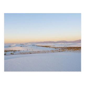 白は国有記念物、横断砂丘2を紙やすりで磨きます ポストカード