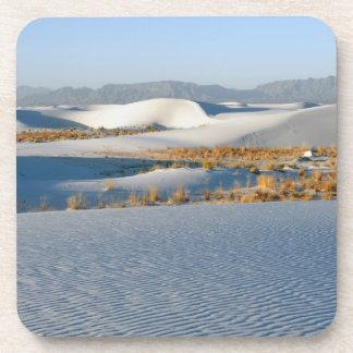 白は国有記念物、横断砂丘3を紙やすりで磨きます コースター