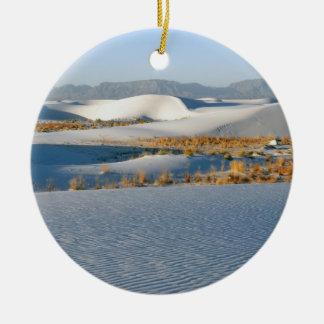 白は国有記念物、横断砂丘3を紙やすりで磨きます セラミックオーナメント