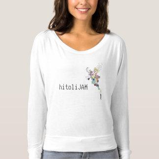 白ウサギの想像力 Tシャツ