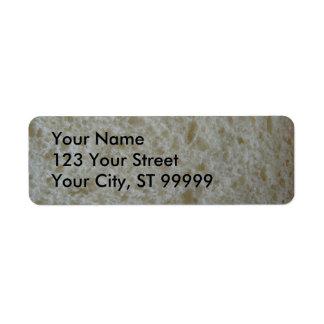 白パンの宛名ラベル ラベル