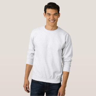 白ワインの写真撮影のCrewneckのユニセックスな灰色 スウェットシャツ
